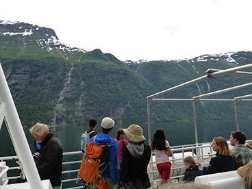allein zwischen fjorden